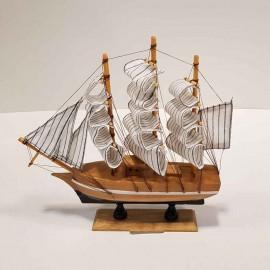کشتی دکوری 3 بادبانه کوچک
