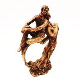 مجسمه قلب سوار