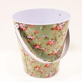 سطل فلزی دسته دار طرح 1